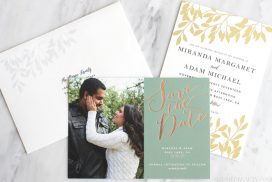Another month of wedding planning down! See what we did during Month 2 of wedding planning: wedding website, save the dates and invites, plus color scheme choices.