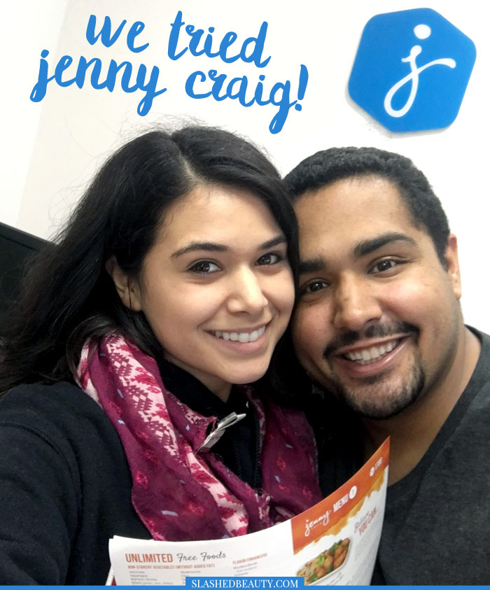 Read about our weight loss experience in this one-month Jenny Craig review-- and see our surprising results! | Slashed Beauty