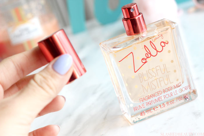 Check out the new items from Zoella Beauty that are finally available in the United States at Target! | Slashed Beauty