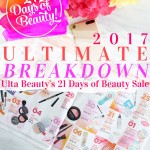 Get the full list of Ulta Beauty's 21 Days of Beauty 2017 to see all the discounts you can get on your favorite brands during the sale-- up to 50% off.