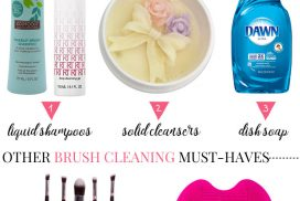 Discover three cheap and easy ways to clean makeup brushes to keep them in great condition. Plus, a few must-haves to make the chore a breeze!