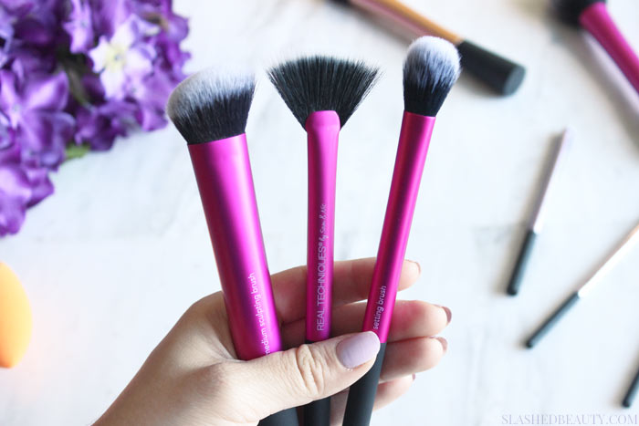 Find out why Real Techniques makes the best brushes for busy beginners, and my recommendations! | Slashed Beauty