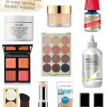 Check out these brand new spring beauty products and a few classics to add to your routine this season for a fresh, renewed look.
