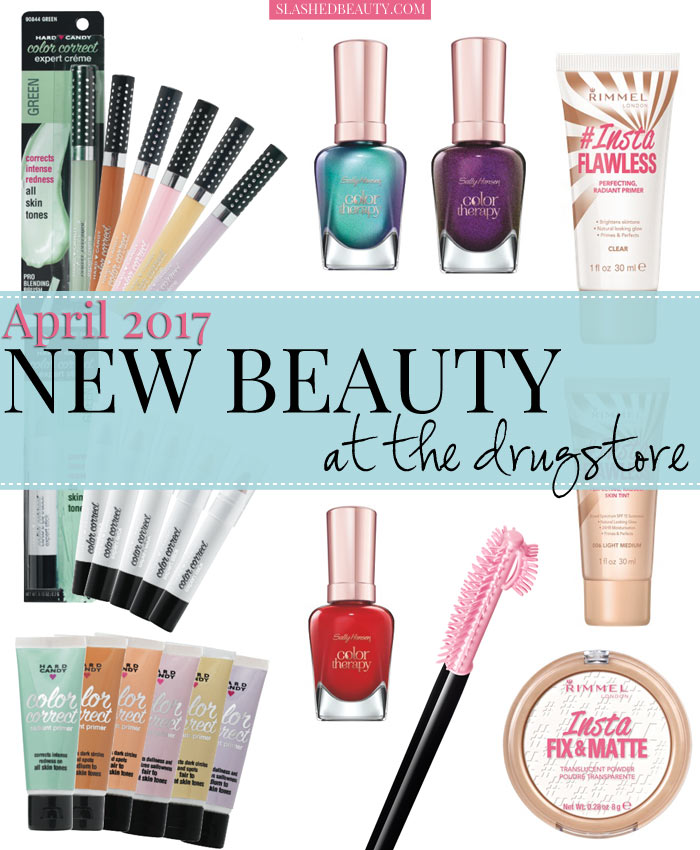 Get the scoop on all the new drugstore makeup and beauty releases for spring! See what's hitting shelves this April & May. | Slashed Beauty
