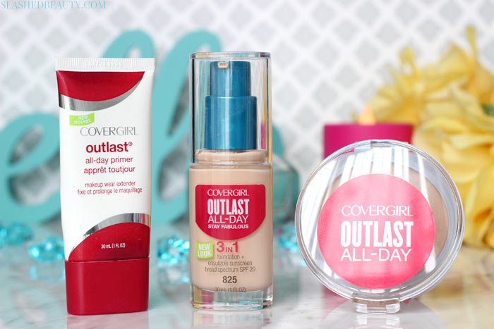 Covergirl Outlast All-Day Stay Fabulous Foundation is the newest full coverage and long lasting foundation from the drugstore. See how it wears!