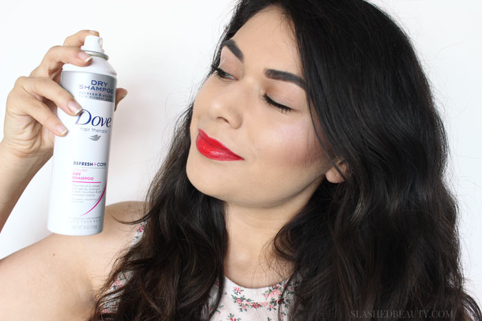 Is Dry Shampoo Bad for You? Find out how much dry shampoo is too much, and what the effects are of layering constantly onto your scalp.