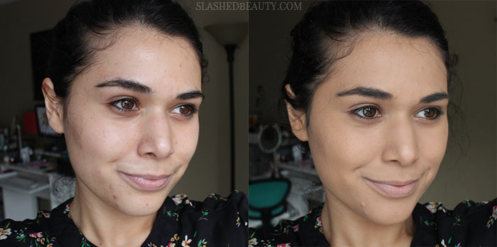 Get the scoop on the latest drugstore foundation causing buzz! Read the review of Covergirl Vitalist Healthy Elixir Foundations, and if it would work for your skin! | Slashed Beauty