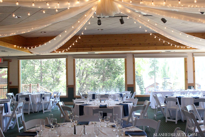 The Pines Resort in Bass Lake, California is the perfect lake wedding venue for nature lovers. Take a tour with me! | Slashed Beauty