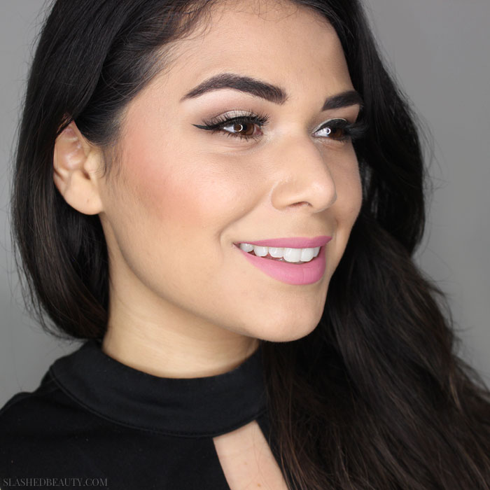 Check out how to recreate this drugstore prom makeup look! Save money and look great at any special event. | Slashed Beauty