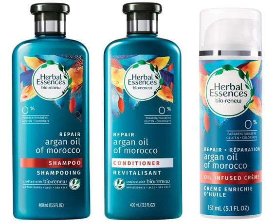 Check out all of the best new drugstore makeup and beauty products that have launched in June 2017 for summer, like the Herbal Essences bio:renew Argan Oil line. | Slashed Beauty