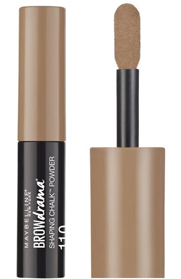 Check out all of the best new drugstore makeup and beauty products that have launched in June 2017 for summer, like the Maybelline Brow Drama Shaping Chalk Powder. | Slashed Beauty