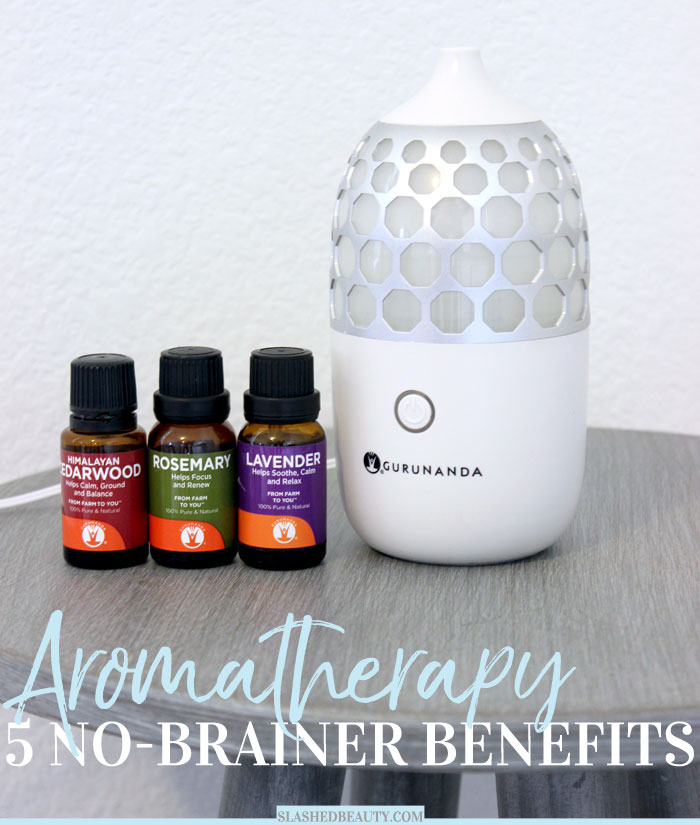 Have you started using aromatherapy in your routine? Here are five top reasons why you should try aromatherapy that are no-brainers! | Slashed Beauty