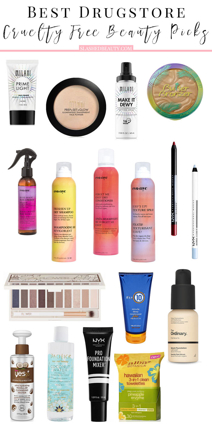 17 Best Drugstore Cruelty Free Beauty Picks