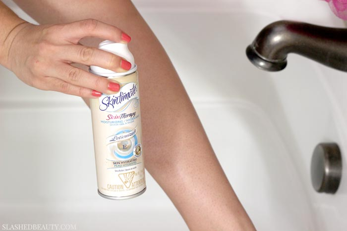 Are you constantly shaving for last minute plans, only to end up with redness and bumps? Here's the best way to shave legs in 3 minutes for smooth skin. | Slashed Beauty