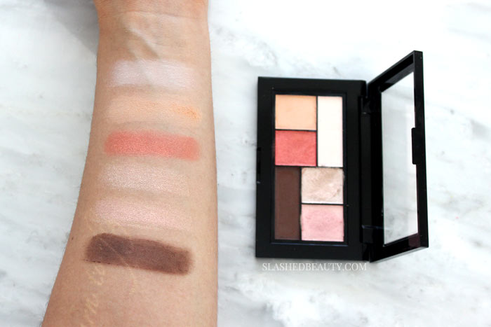 DOWNTOWN SUNRISE: Are the new Maybelline The City Mini Palettes must-haves? Check out swatches of all six palettes and hear which ones you should pick up or skip. | Slashed Beauty