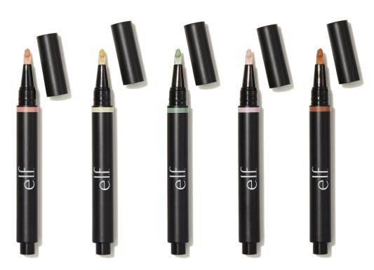 Take a look at the new drugstore makeup and beauty releases that came out during August 2017, like the e.l.f. Flawless Color Correcting Pens! | Slashed Beauty