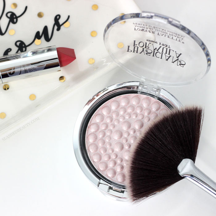 Get a first look at the new Physicians Formula 80th Anniversary Collection. It's limited edition and consists of fan favorites like the Powder Palette Mineral Glow Pearls Highlighter-- get the scoop and see swatches! | Slashed Beauty