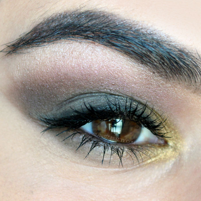 Check out the step-by-step fall makeup tutorial to recreate this smoky jewel tone look. Spoiler: I used all budget-friendly products! | Slashed Beauty