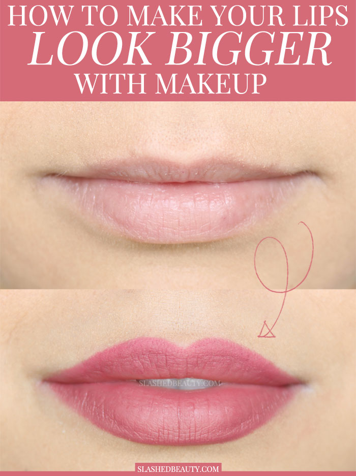 Your Lips Look Bigger With Makeup