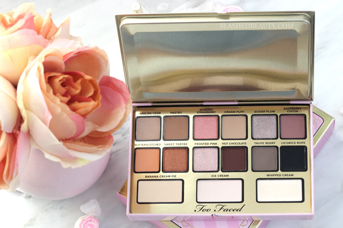 I Want Kandee Candy Eyes Palette: Take a look at the limited edition Too Faced I Want Kandee collection, created with Kandee Johnson! Which are must-haves, and which are just SKIPS? | Slashed Beauty