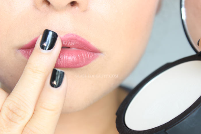 Learn the right way to overdraw your lips! Check out the step-by-step on how to make your lips look bigger with makeup... no injections required!   Slashed Beauty