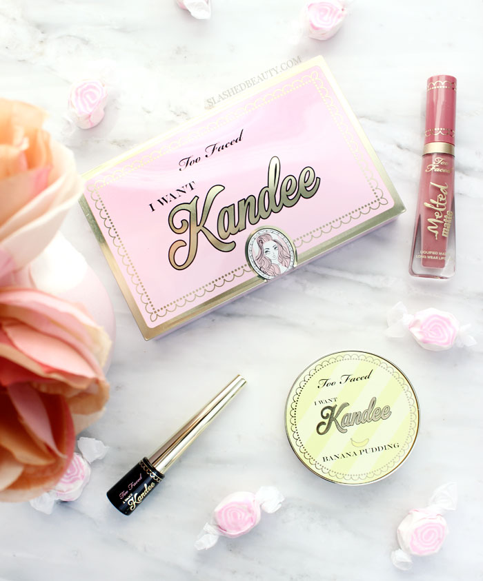 Get them before they're sold out! Take a look at the limited edition Too Faced I Want Kandee collection, created with Kandee Johnson! Which are must-haves, and which are just SKIPS? | Slashed Beauty
