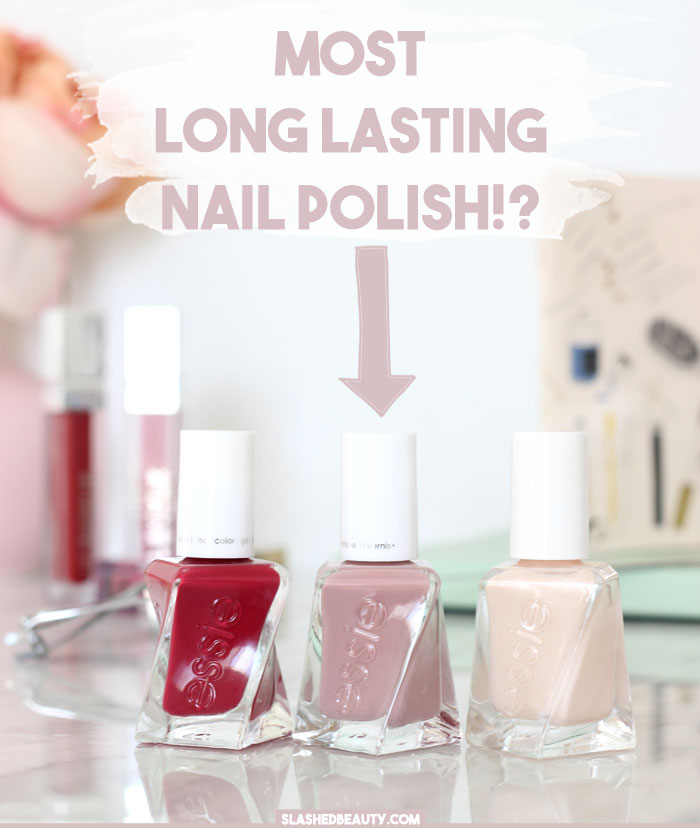 Most Long-Lasting Polish: Essie Gel Couture Review | Slashed Beauty
