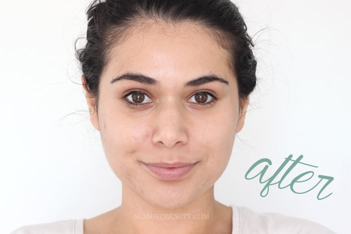 I added just two Olay skincare products to my routine for 28 days... you've got to see these results! | Slashed Beauty