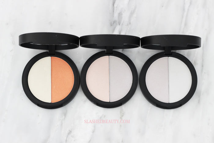 Take a closer look at the new e.l.f. Prismatic Highlighting Duos-- formerly the Highlighting Holographic Duos! Why did they change their name? Read more...   Slashed Beauty