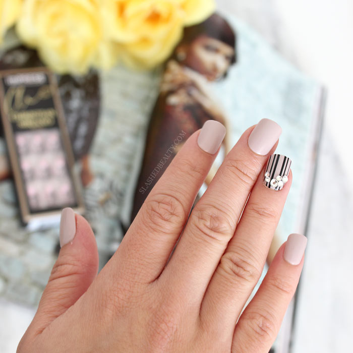 Take a look at the product that gives me perfect manicures every time: imPRESS Press On Manicures. Are they the best drugstore press on nails out there?! | Slashed Beauty