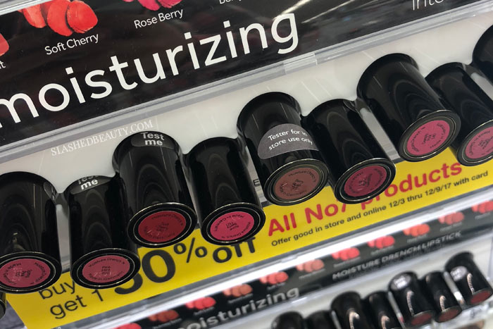 ... Walgreens is rolling out makeup testers -- one of the first I've seen