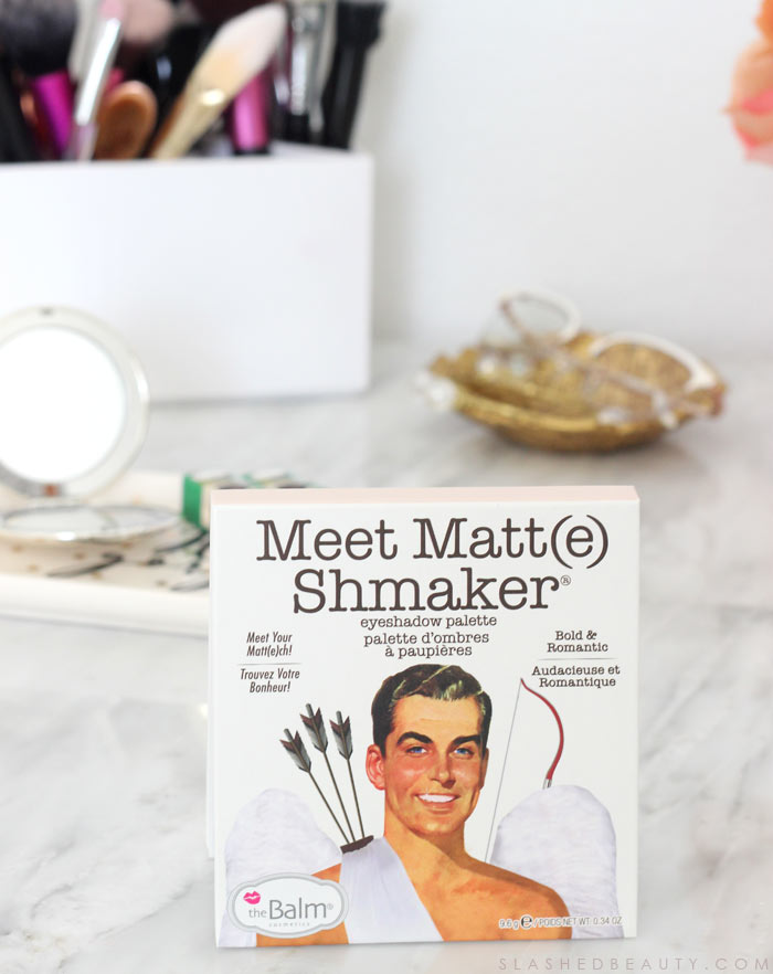 The new Meet Matt(e) Shmaker Eyeshadow Palette from theBalm: See swatches and read the review. | Slashed Beauty