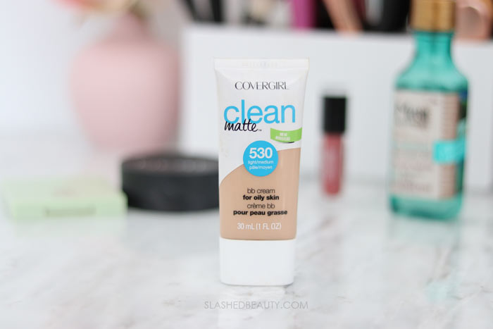Covergirl Clean Matte BB Cream: These five drugstore beauty products are seriously overlooked! Check out these underrated beauty favorites that deserve more attention. | Slashed Beauty