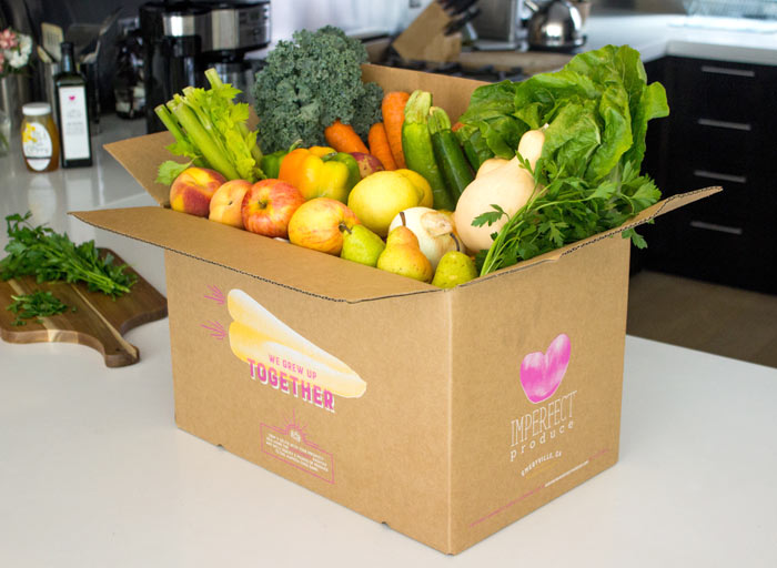 Imperfect Produce Food Subscription: Discover new lifestyle and beauty subscription boxes to try this year to make your mailbox more exciting! | Slashed Beauty