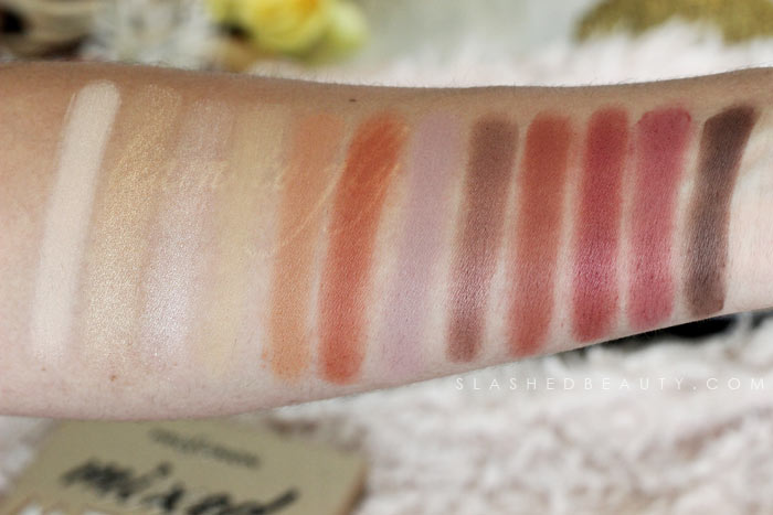 Amber Eyes Palette / Drugstore Modern Renaissance Dupe: Discover new drugstore makeup: Profusion Cosmetics! Check out these reviews & swatches of the must-have palettes. | Slashed Beauty