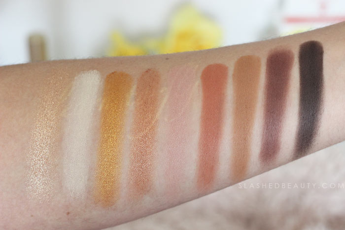 Mixed Metals Palette / Drugstore Metallic Eyeshadow: Discover new drugstore makeup: Profusion Cosmetics! Check out these reviews & swatches of the must-have palettes. | Slashed Beauty