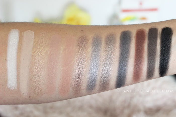 Smoky Eyes Palette / Drugstore Smoky Eyeshadow: Discover new drugstore makeup: Profusion Cosmetics! Check out these reviews & swatches of the must-have palettes. | Slashed Beauty