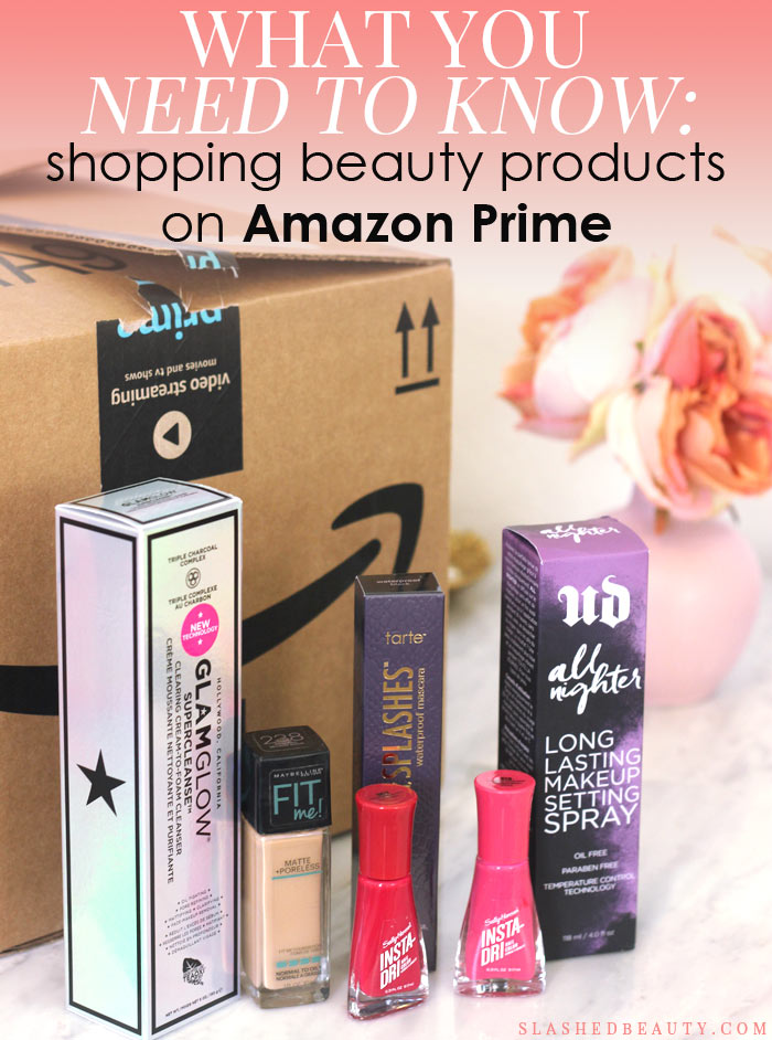 Love knowing all the best ways to shop for beauty products? Here's what you need to know about buying beauty products on Amazon Prime-- and how to save money doing it! | Slashed Beauty