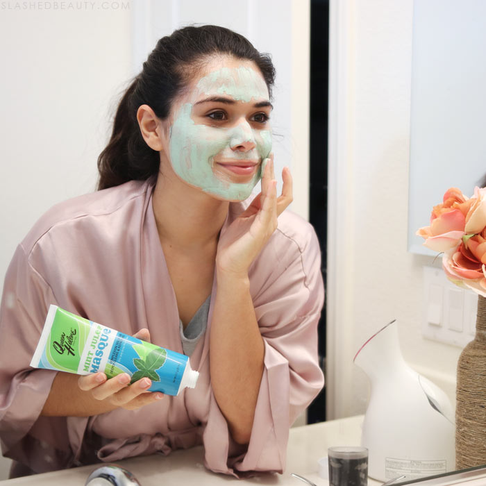 Queen Helene Mint Julep: Check out the new additions to my Sunday skin care routine for acne prone skin, helping me maintain a clear complexion! | Slashed Beauty