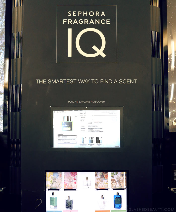 Sephora Fragrance IQ: Check out my latest shopping excursion at The Forum Shops for beauty & fashion in Las Vegas | Slashed Beauty