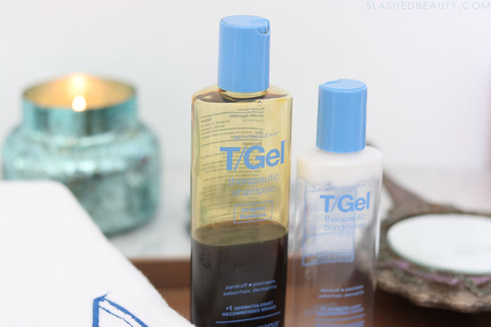 For months I asked myself: Why does my hair smell bad after showering? Why does my hair smell like wet dog? Here's how I got rid of smelly hair with Neutrogena T/Gel Shampoo.   Slashed Beauty