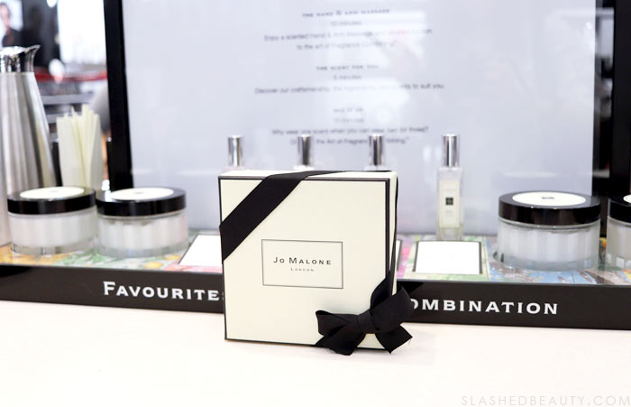 Jo Malone at Sephora: Check out my latest shopping excursion at The Forum Shops for beauty & fashion in Las Vegas | Slashed Beauty