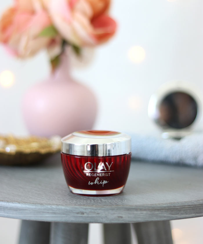 I'm trying the brand new Olay Regenerist Whip Moisturizer. Is it a combo skin holy grail? | Slashed Beauty
