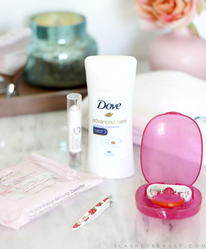 Dove Deodorant: Although they might not be glamorous, these beauty favorites are must-haves to complete my routine. Check out these unglamorous beauty go-tos! | Slashed Beauty