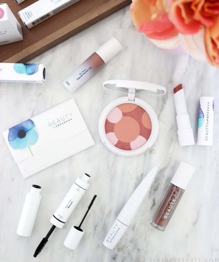 Take a look at the new Beauty by Popsugar makeup line-- is it worth picking up or sticking to your go-to makeup? | Slashed Beauty