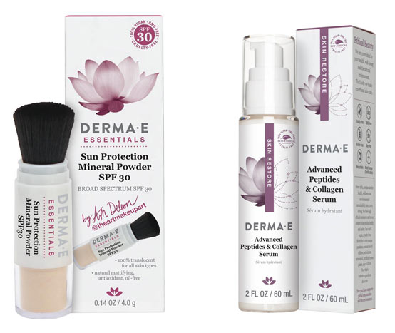 New Derma E powder sunscreen: Check out the new drugstore makeup and beauty launches hitting shelves in March 2018! | Slashed Beauty