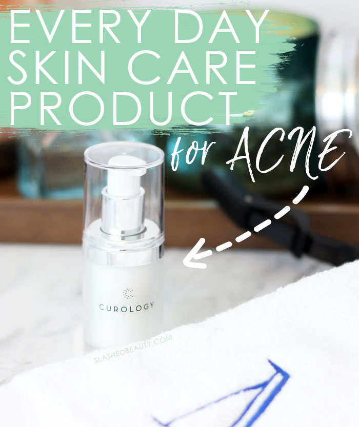 It's good to change up your skin care routine with the seasons, but this daily skin care product for acne is my daily go-to year round. Get it for just the price of shipping! | Slashed Beauty