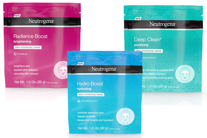 New Neutrogena Sheet Masks: Check out the new drugstore makeup and beauty launches hitting shelves in March 2018! | Slashed Beauty