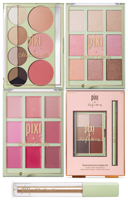 New Pixi Pretties Palettes with Dulce Candy & Chloe Morello: Check out the new drugstore makeup and beauty launches hitting shelves in March 2018! | Slashed Beauty