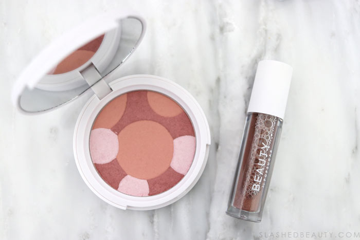 Beauty by Popsugar Make Me Blush Cheek Color. Take a look at the new Beauty by Popsugar makeup line-- is it worth picking up or sticking to your go-to makeup? | Slashed Beauty